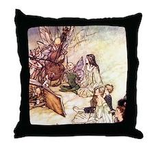 Fairies Sing Throw Pillow