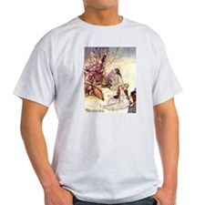 Fairies Sing Ash Grey T-Shirt
