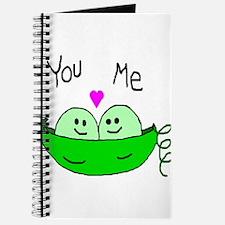 Cute Two peas Journal