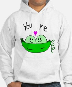 Unique Two peas Hoodie