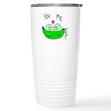 Cute Two peas Travel Mug