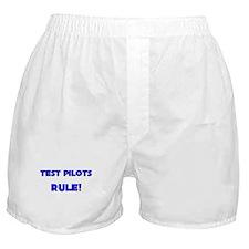 Test Pilots Rule! Boxer Shorts