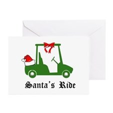 Santa's Ride - Greeting Cards (Pk of 10)