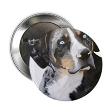 "Catahoula Blue Eyes 2.25"" Button"