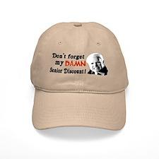 Funny McCain Senior Discount Baseball Cap