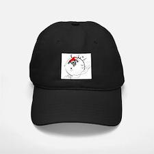 Catahoula in Snowball Baseball Hat