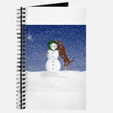 Catahoula Leopard Dog and Sno Journal