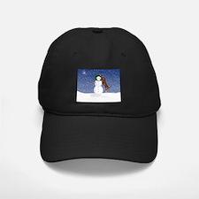 Catahoula Leopard Dog and Sno Baseball Hat