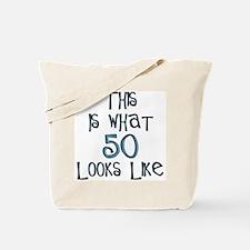 50th birthday looks like Tote Bag
