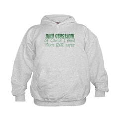 Silly Question Kids Hoodie