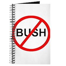 Anti-Bush Sign Journal
