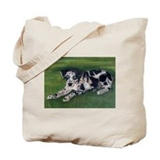 Catahoula Puppy Tote Bag