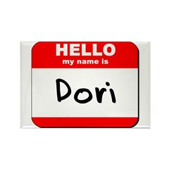 Hello my name is Dori Rectangle Magnet (10 pack)