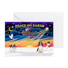 XmasSunrise/Spring Span W2 Greeting Card