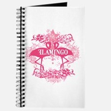 Pink Flamingo Abstract Journal