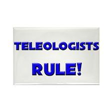 Teleologists Rule! Rectangle Magnet