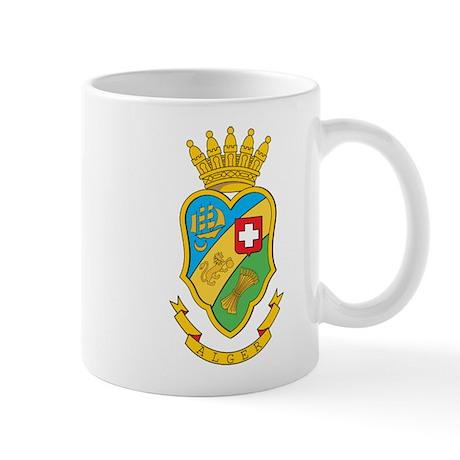 Algiers Coat of Arms Mug