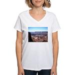 moab utah Women's V-Neck T-Shirt