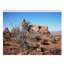 moab utah Wall Calendar