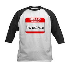 Hello my name is Donavan Tee