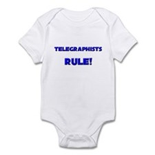 Telegraphists Rule! Infant Bodysuit