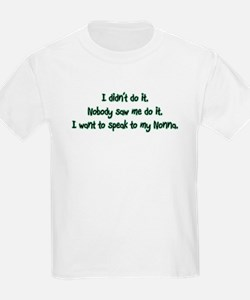 Want to Speak to Nonna T-Shirt