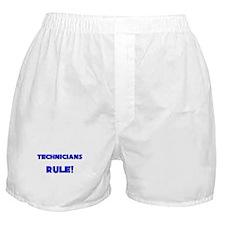 Technicians Rule! Boxer Shorts