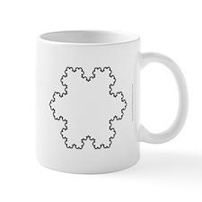 Koch Snowflake Fractal Mug