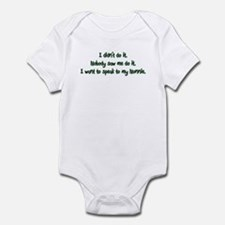 Want to Speak to Nonnie Infant Bodysuit