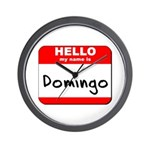 Hello my name is Domingo Wall Clock