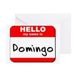 Hello my name is Domingo Greeting Cards (Pk of 10)
