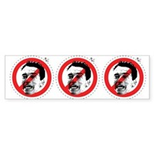 No Arnold 3x Bumper Bumper Sticker