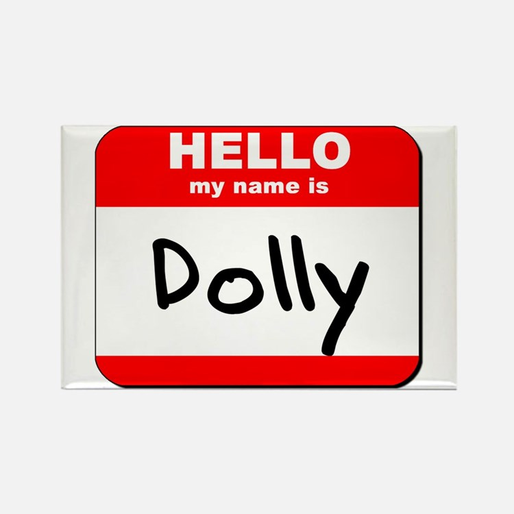 Hello my name is Dolly Rectangle Magnet (10 pack)