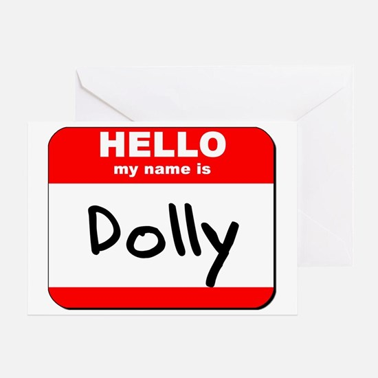 Hello my name is Dolly Greeting Card