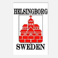 Cute Swedish men Postcards (Package of 8)