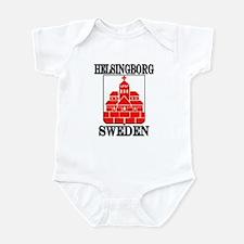 Cute Swedish men Infant Bodysuit