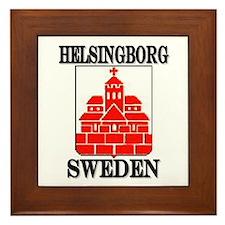 Unique Scandinavian viking Framed Tile