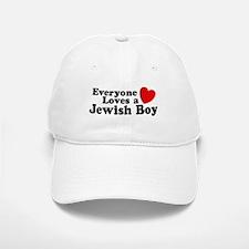 Everyone loves a Jewish Boy Baseball Baseball Cap