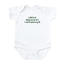 Want to Speak to Oji Infant Bodysuit