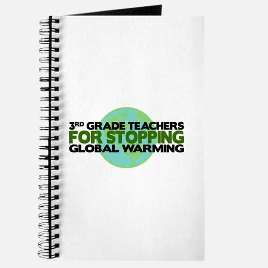 3rd Grade Teachers Stop Global Warming Journal