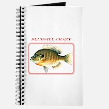 Bluegill Crazy Journal
