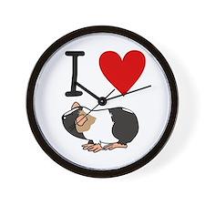 Guinea pig lovers Wall Clock