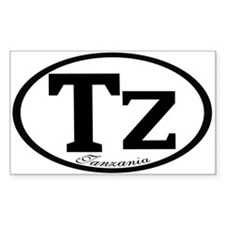 TZ Rectangle Decal