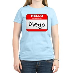 Hello my name is Diego T-Shirt