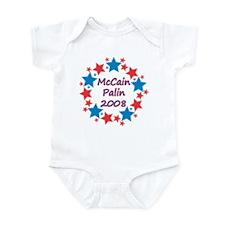 McCain Palin 2008 Stars Infant Bodysuit