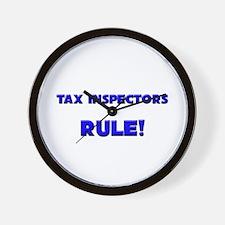 Tax Inspectors Rule! Wall Clock
