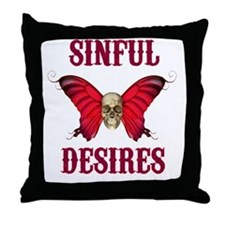Cool Desire Throw Pillow