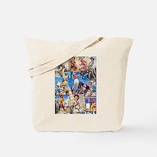 Cowgirl Pin-Ups No.1 Tote Bag