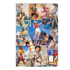 Cowgirl Pin-Ups No.1 Postcards (Package of 8)