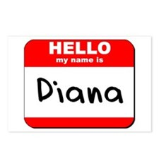 Hello my name is Diana Postcards (Package of 8)